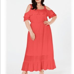 NY Collection 3X Plus Size Maxi Dress